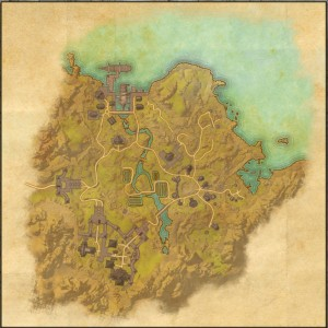 The maps of the Elder Scrolls Online - Bal Foyen