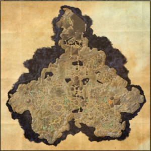 The maps of the Elder Scrolls Online - Coldharbour