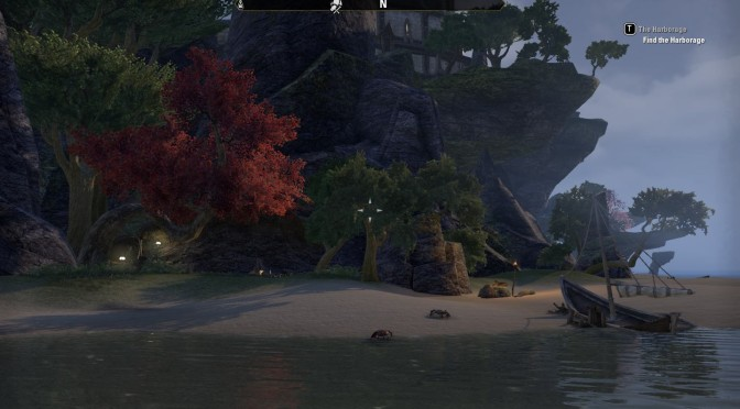 Eastshore Islets Camp – Hidden Crafting Spot