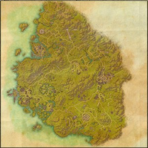 The maps of the Elder Scrolls Online - Greenshade