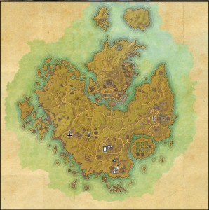 The maps of the Elder Scrolls Online - Khenarthi's Roost