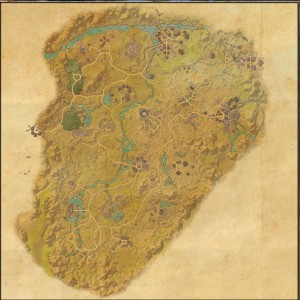 The maps of the Elder Scrolls Online - Reaper's March