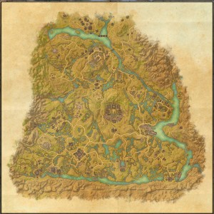The maps of the Elder Scrolls Online - Shadowfen