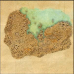 The maps of the Elder Scrolls Online - Stonefalls