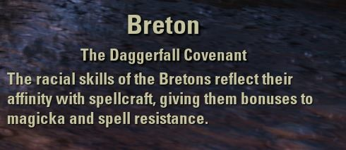 Exploring the Elder Scrolls Online - Description of the Breton Race