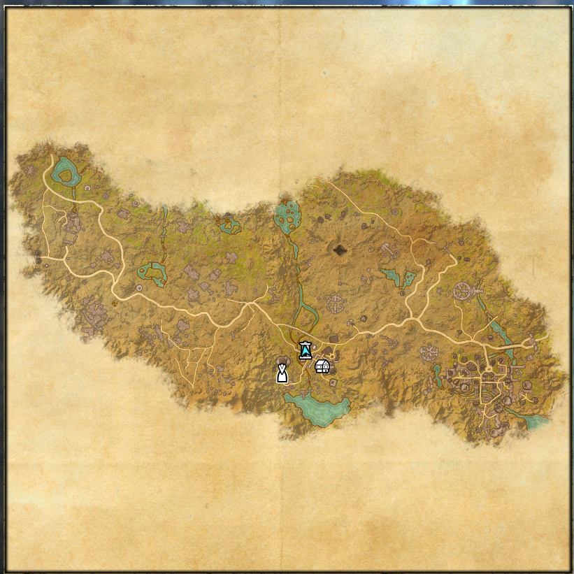 Map of Craglorn