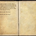 The Books of the Elder Scrolls Online - Exiled From Exile, volume 7, page 2