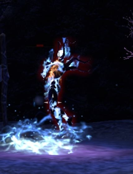 The flame atronach in the Wailing Prison