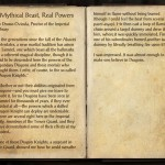 The Books of the Elder Scrolls Online - Mythical Beast, Real Powers