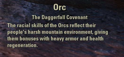 Exploring the Elder Scrolls Online - Orc Description