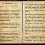 The Books of the Elder Scrolls Online - The Tale of Dro-Zira