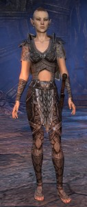 Exploring the Elder Scrolls Online - Female Wood Elf
