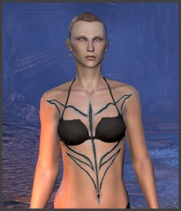 Imperial Female - Body Marking - Design
