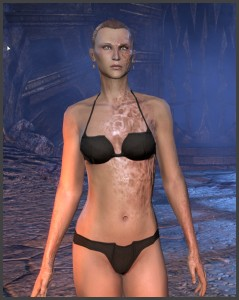 Imperial Female - Body Marking - Scars
